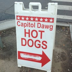 Photo taken at Capitol Dawg by Bryan B. on 10/26/2012