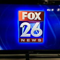 Photo taken at FOX 26 (KRIV-TV) by Gil G. on 11/2/2015