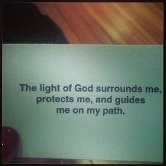 Photo taken at Bodhi Spiritual Center by Amber Rose G. on 12/29/2013