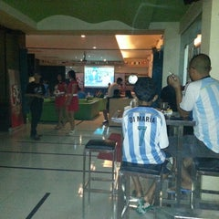 Photo taken at Liquid Futsal & Resto by Sugeng R. on 7/13/2014