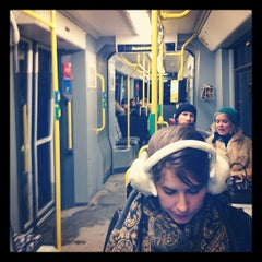 Photo taken at M10 Party Tram by Donald B. on 2/5/2012
