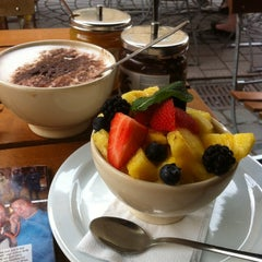 Photo taken at Le Pain Quotidien by Nele V. on 6/18/2013