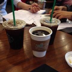 Photo taken at Starbucks by philomenus k. on 6/1/2013