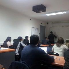 Photo taken at Instituto de Estudios Bancarios Guillermo Subercaseaux by Fabio S. on 5/6/2013
