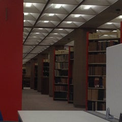 Photo taken at Perry-Castañeda Library (PCL) by Itzel G. on 4/10/2013