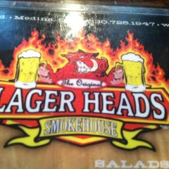 Photo taken at Lagerhead's Smokehouse by Mike K. on 5/1/2013