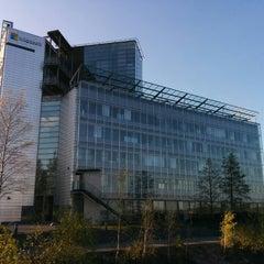 Photo taken at Microsoft Talo by Afonso G. on 9/14/2014