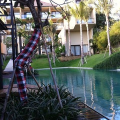 Photo taken at Centra Taum Resort Seminyak by Lzd on 9/22/2012