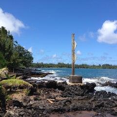 Photo taken at Hana Beach Park by Michael F. on 9/2/2014