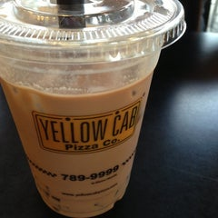 Photo taken at Yellow Cab Pizza Co. by Anna F. on 9/1/2013