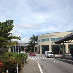 Photo taken at Piarco International Airport (POS) by Gino G. on 5/1/2013