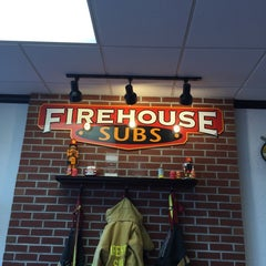 Photo taken at Firehouse Subs by amol w. on 10/8/2014