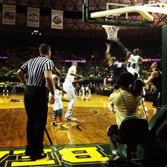 Photo taken at Ferrell Center by Jeremy P. on 3/28/2013