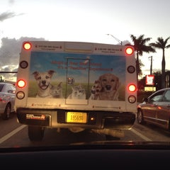 Photo taken at Intersection W Oakland Park Blvd & N Powerline Rd by Karl K. on 2/2/2014