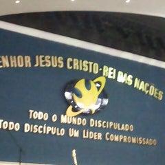Photo taken at Igreja da Paz by Laura M. on 6/7/2015