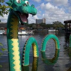 Photo taken at Disney Springs The Landing by Jamie O. on 12/15/2012