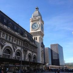 Photo taken at Gare SNCF de Paris Lyon by Jean-Baptiste D. on 4/14/2013
