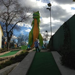 Photo taken at Peter Pan Mini Golf by Shannan R. on 2/6/2013