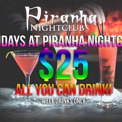 Photo taken at Piranha Nightclub by Piranha Nightclub on 1/24/2015
