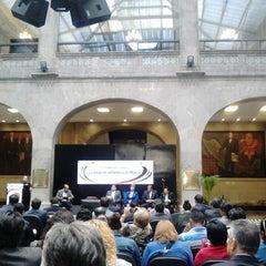 Photo taken at Antigua Sede del Senado de la República by Jessica A. on 4/24/2013