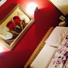 Photo taken at Hotel Do Campanário by Ana Lúcia F. on 4/5/2014