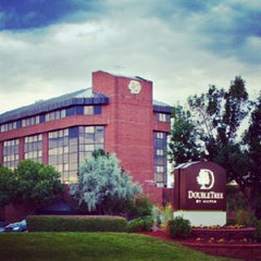 Photo taken at DoubleTree by Hilton Hotel Denver - Westminster by Mike P. on 6/4/2013