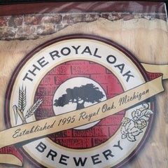 Photo taken at Royal Oak Brewery by Anne C. on 5/18/2013