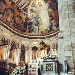 Photo taken at Basilique du Sacré-Cœur de Montmartre by Cristiano P. on 6/2/2013