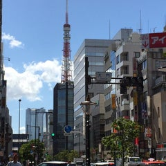 Photo taken at 大門 交差点 by Akihiko O. on 7/15/2015