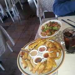 Photo taken at Thai Taste by Nicole G. on 12/12/2012