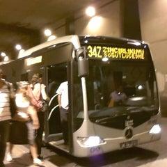 Photo taken at Zincirlikuyu Metrobüs Durağı by Çağdaş D. on 7/29/2013
