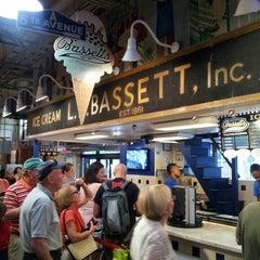 Photo taken at Bassett's Ice Cream by Gabriela S. on 6/8/2013
