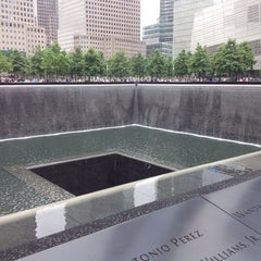 Photo taken at National September 11 Memorial & Museum by Sam E. on 6/3/2013