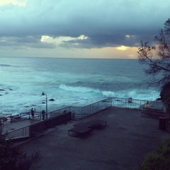 Photo taken at Tamarama Beach by Run W. on 4/17/2013