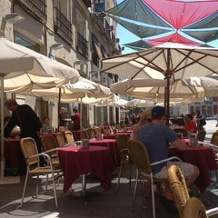 Photo taken at Cafetería-Restaurante Hotel Europa by Alana B. on 8/4/2013