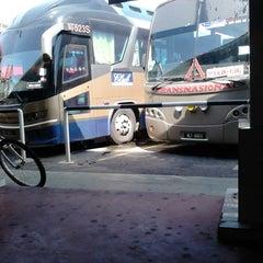 Photo taken at Terminal Bas Bentayan Muar by Faseha S. on 4/25/2013