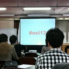 Photo taken at 大阪 YMCA 土佐堀 by Koichi M. on 12/9/2012