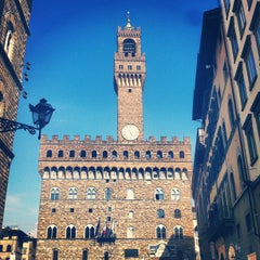 Photo taken at Piazza della Signoria by Philipp V. on 7/21/2013