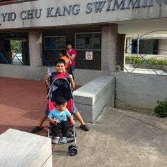Photo taken at Yio Chu Kang Swimming Complex by Danny A. on 1/5/2013