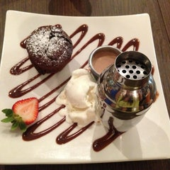 Photo taken at Max Brenner Chocolate Bar by Bianca L. on 5/31/2013