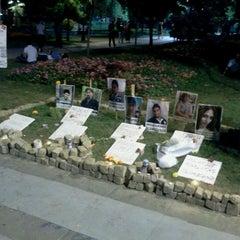 Photo taken at Taksim Gezi Parkı by 'Harun' K. on 7/18/2013