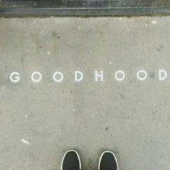 Photo taken at GoodHood by Carl M. on 10/26/2014
