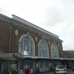 Photo taken at Ramsgate Railway Station (RAM) by James S. on 5/8/2013