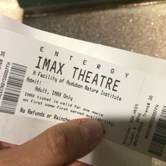 Photo taken at Entergy IMAX Theater by Matt W. on 4/27/2015