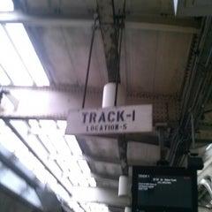 Photo taken at Track 1 by Debora on 4/19/2013