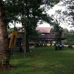 Photo taken at Kampung Maen - Cibubur by Rudolf S. on 7/13/2013