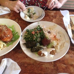 Photo taken at Mediterranean Chef by Caitlin W. on 10/16/2013