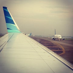 Photo taken at Ahmad Yani International Airport (SRG) by Daniel H. on 5/8/2013