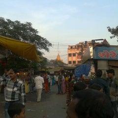 Photo taken at Shirdi Sai Baba Temple (Samadhi Mandir) by Kirti T. on 12/16/2012