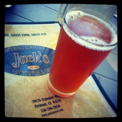 Photo taken at Jack's Brewing Co. by Eric B. on 5/1/2013
